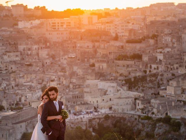 Il matrimonio di Vitalba e Mauro a Matera, Matera 36