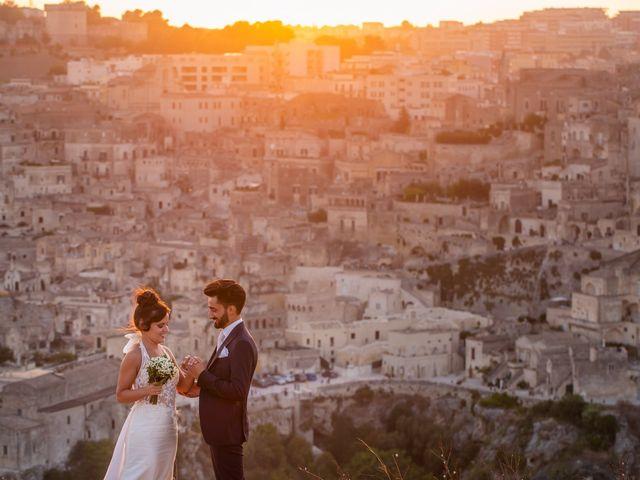 Il matrimonio di Vitalba e Mauro a Matera, Matera 42