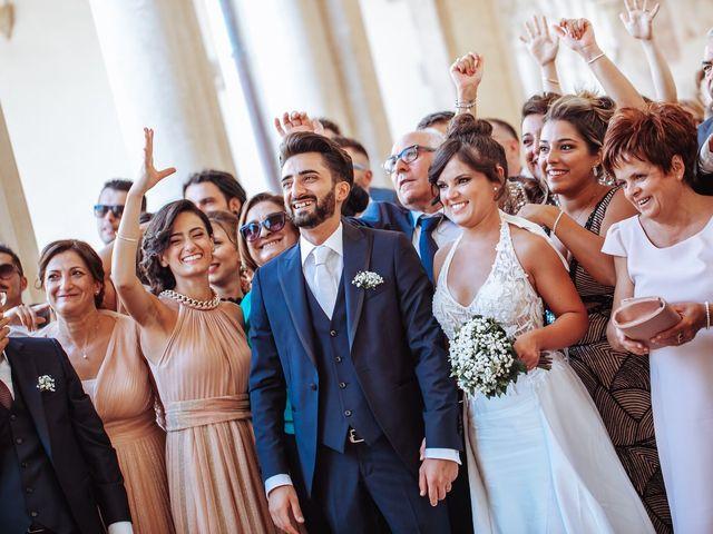 Il matrimonio di Vitalba e Mauro a Matera, Matera 63