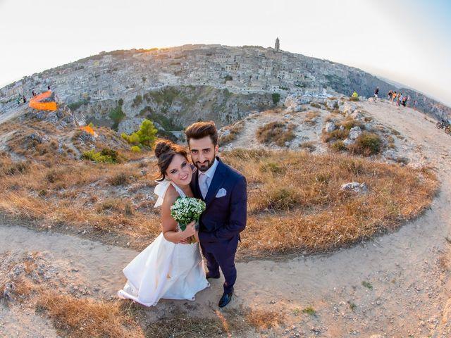 Il matrimonio di Vitalba e Mauro a Matera, Matera 73