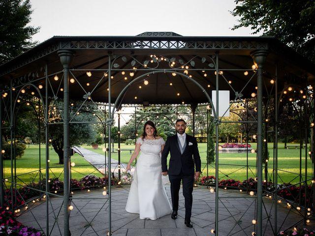 Il matrimonio di Matthias e Laura a Brescia, Brescia 45