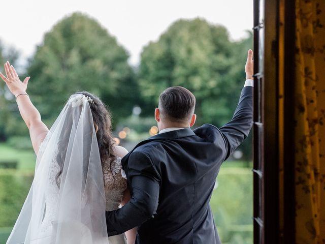 Il matrimonio di Matthias e Laura a Brescia, Brescia 51