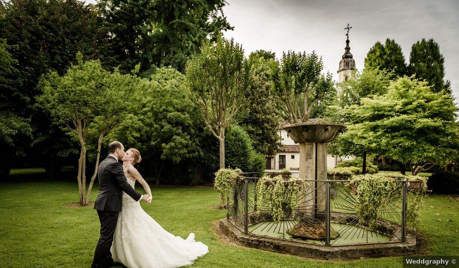Il matrimonio di Christian e Elena a Gazzo, Padova