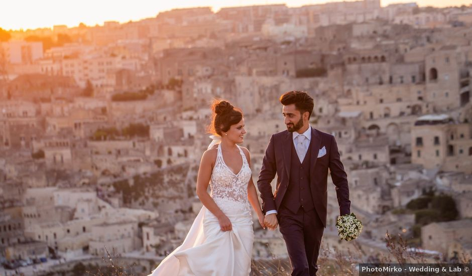 Il matrimonio di Vitalba e Mauro a Matera, Matera