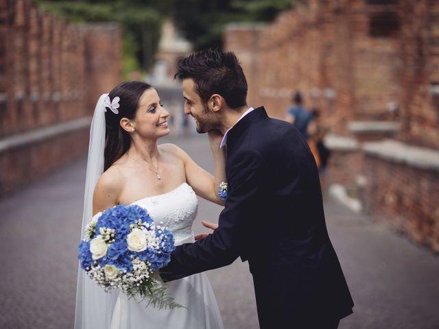 Il matrimonio di Fabio e Valentina a Verona, Verona 56