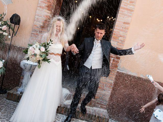 Il matrimonio di Massimiliano e Serena a Cerreto d'Esi, Ancona 38