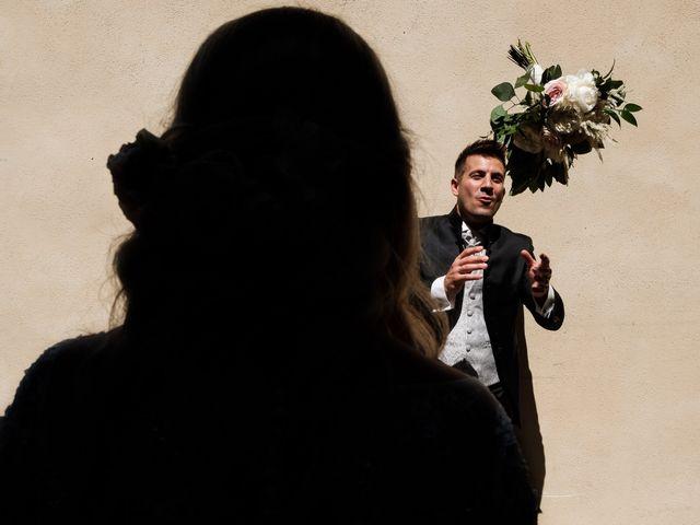 Il matrimonio di Massimiliano e Serena a Cerreto d'Esi, Ancona 44