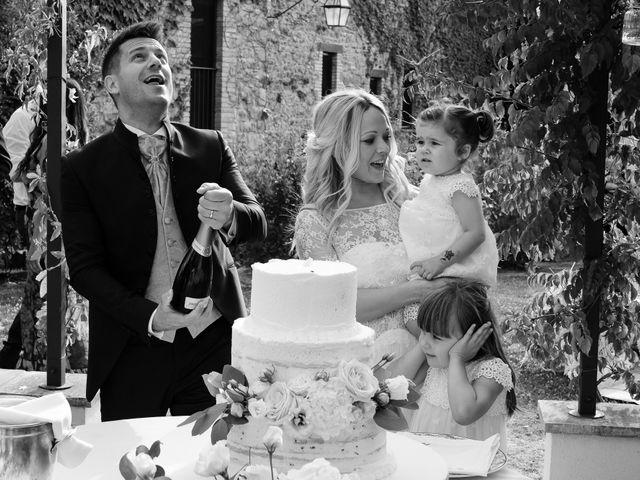 Il matrimonio di Massimiliano e Serena a Cerreto d'Esi, Ancona 78