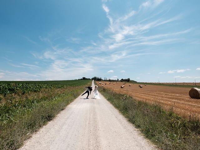 Il matrimonio di Massimiliano e Serena a Cerreto d'Esi, Ancona 50