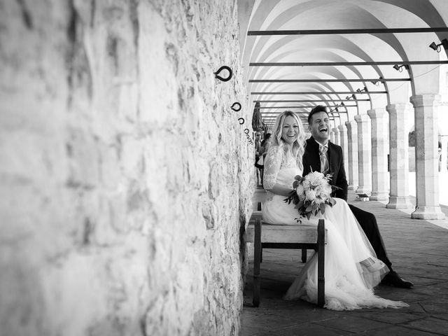 Il matrimonio di Massimiliano e Serena a Cerreto d'Esi, Ancona 53