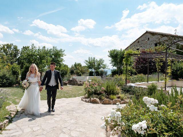 Il matrimonio di Massimiliano e Serena a Cerreto d'Esi, Ancona 69