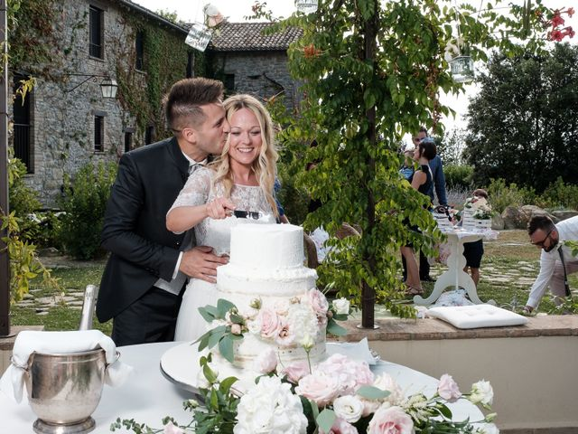 Il matrimonio di Massimiliano e Serena a Cerreto d'Esi, Ancona 77
