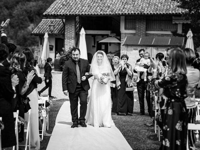 Il matrimonio di Alessio e Alexandra a Fortunago, Pavia 6