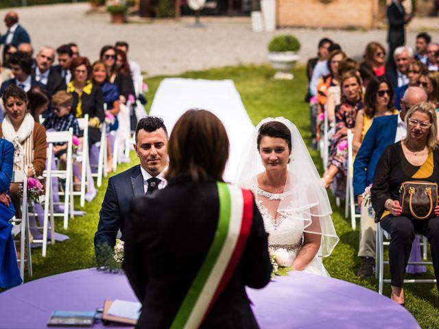 Il matrimonio di Alessio e Alexandra a Fortunago, Pavia 8