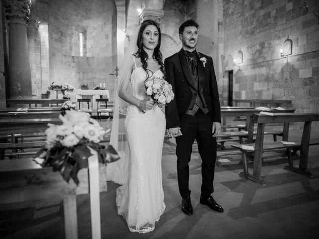 Il matrimonio di Massimo e Consuelo a Casole d'Elsa, Siena 13