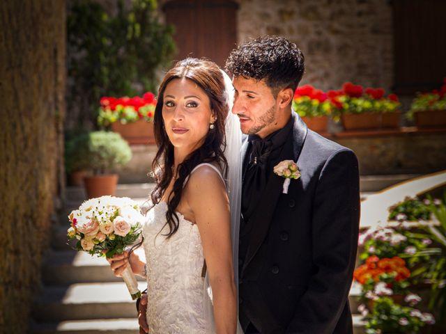 Il matrimonio di Massimo e Consuelo a Casole d'Elsa, Siena 16