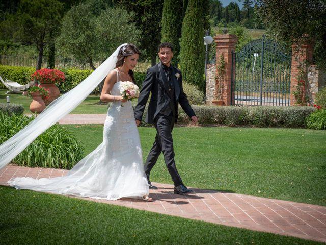 Il matrimonio di Massimo e Consuelo a Casole d'Elsa, Siena 20