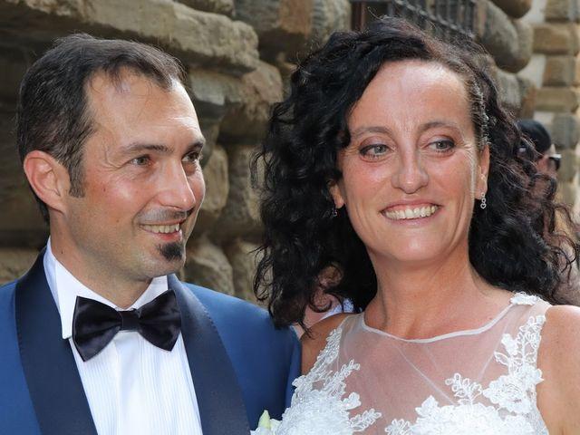Il matrimonio di Massimiliano e Silvia a Monte San Savino, Arezzo 12