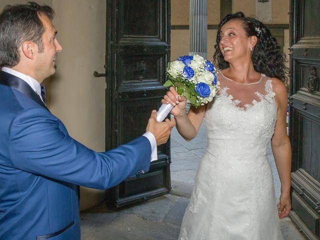 Il matrimonio di Massimiliano e Silvia a Monte San Savino, Arezzo 13