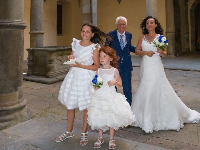 Il matrimonio di Massimiliano e Silvia a Monte San Savino, Arezzo 14