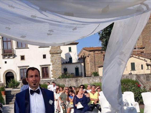 Il matrimonio di Massimiliano e Silvia a Monte San Savino, Arezzo 18