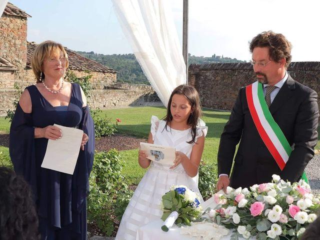 Il matrimonio di Massimiliano e Silvia a Monte San Savino, Arezzo 21