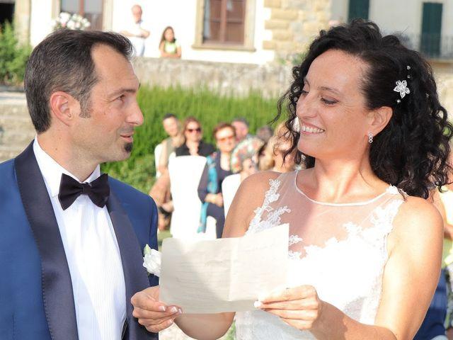 Il matrimonio di Massimiliano e Silvia a Monte San Savino, Arezzo 22