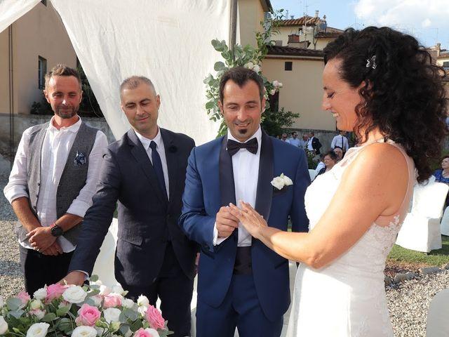 Il matrimonio di Massimiliano e Silvia a Monte San Savino, Arezzo 26