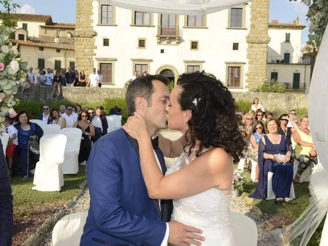 Il matrimonio di Massimiliano e Silvia a Monte San Savino, Arezzo 27