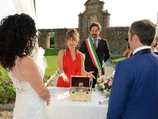 Il matrimonio di Massimiliano e Silvia a Monte San Savino, Arezzo 29
