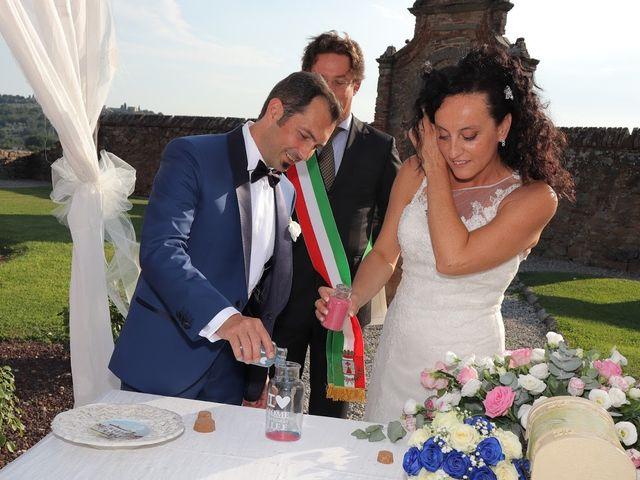 Il matrimonio di Massimiliano e Silvia a Monte San Savino, Arezzo 30