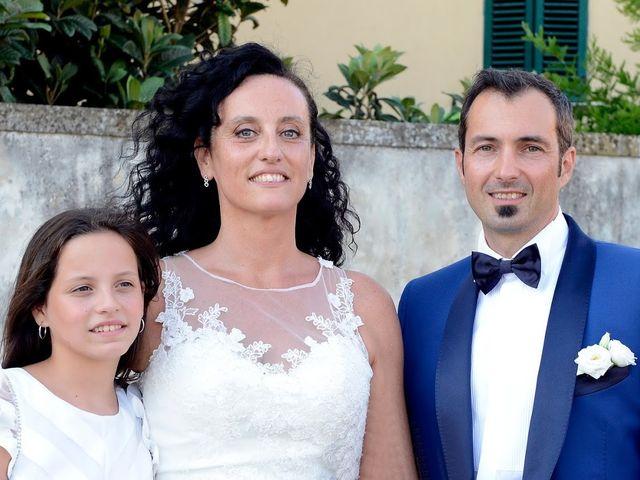 Il matrimonio di Massimiliano e Silvia a Monte San Savino, Arezzo 32