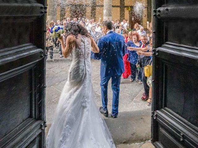 Il matrimonio di Massimiliano e Silvia a Monte San Savino, Arezzo 35