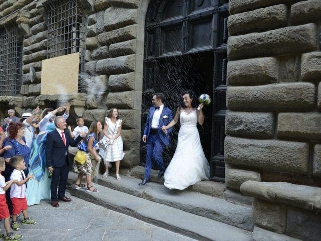 Il matrimonio di Massimiliano e Silvia a Monte San Savino, Arezzo 36