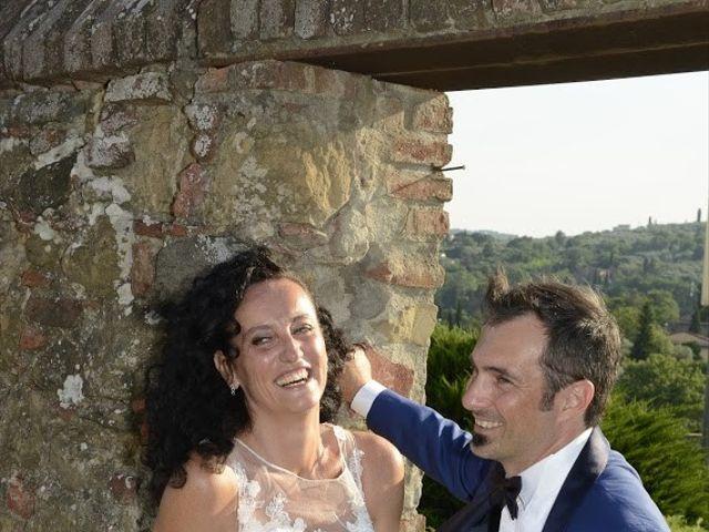 Il matrimonio di Massimiliano e Silvia a Monte San Savino, Arezzo 43