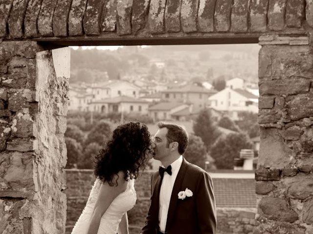 Il matrimonio di Massimiliano e Silvia a Monte San Savino, Arezzo 44