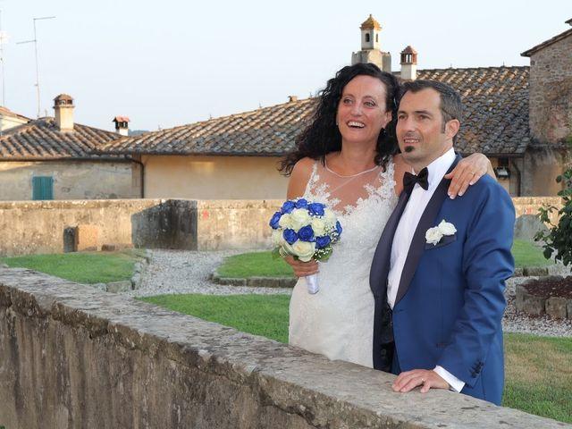 Il matrimonio di Massimiliano e Silvia a Monte San Savino, Arezzo 46