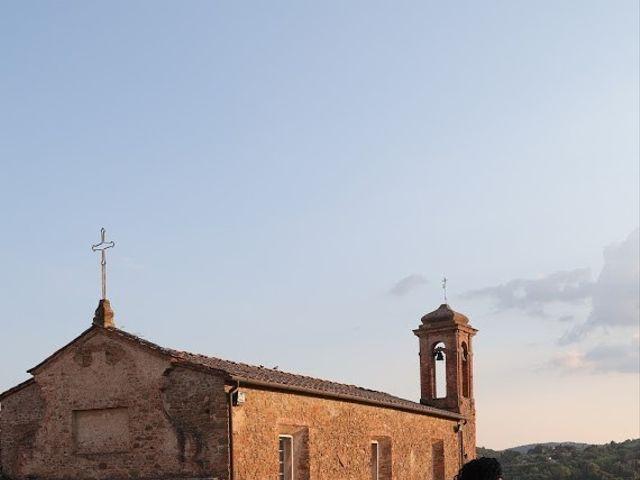 Il matrimonio di Massimiliano e Silvia a Monte San Savino, Arezzo 48