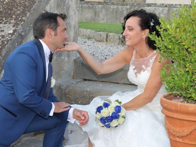 Il matrimonio di Massimiliano e Silvia a Monte San Savino, Arezzo 58
