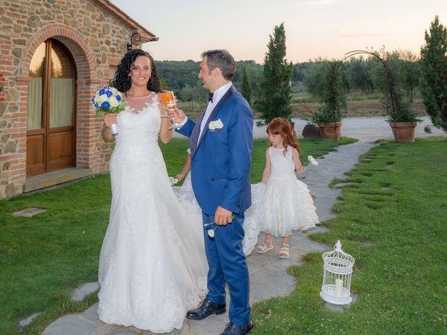 Il matrimonio di Massimiliano e Silvia a Monte San Savino, Arezzo 65