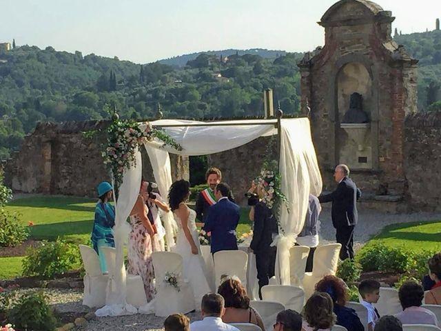 Il matrimonio di Massimiliano e Silvia a Monte San Savino, Arezzo 28