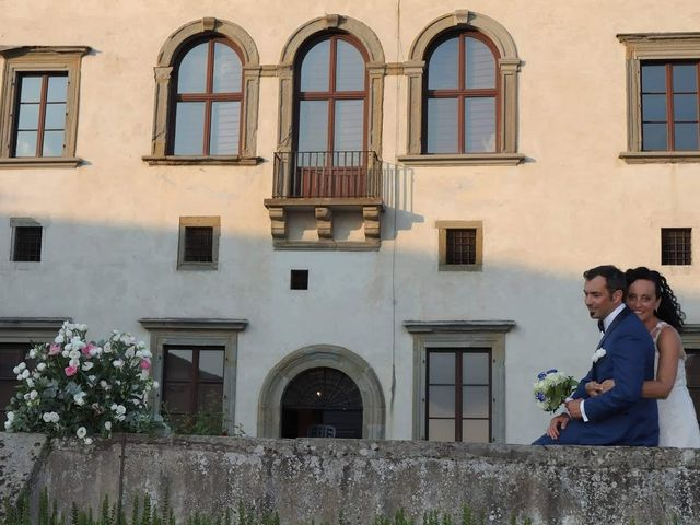 Il matrimonio di Massimiliano e Silvia a Monte San Savino, Arezzo 57