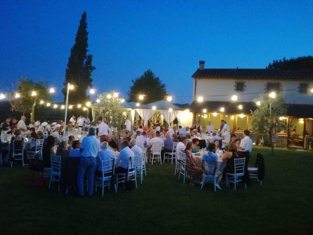 Il matrimonio di Massimiliano e Silvia a Monte San Savino, Arezzo 79