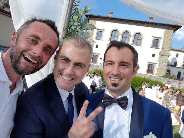 Il matrimonio di Massimiliano e Silvia a Monte San Savino, Arezzo 52