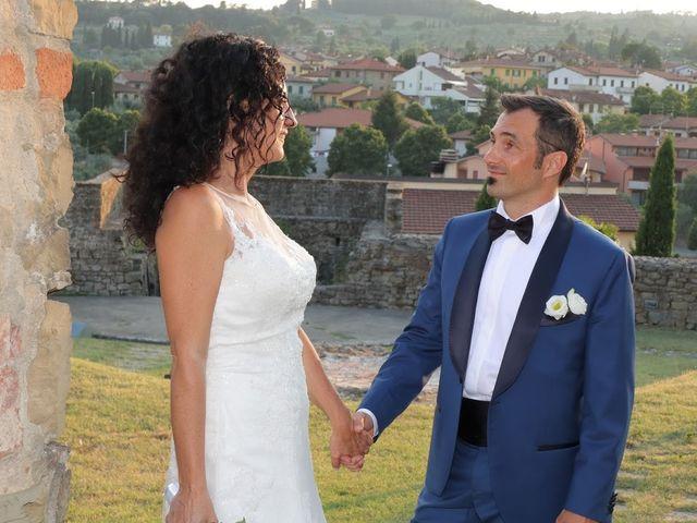 Il matrimonio di Massimiliano e Silvia a Monte San Savino, Arezzo 59