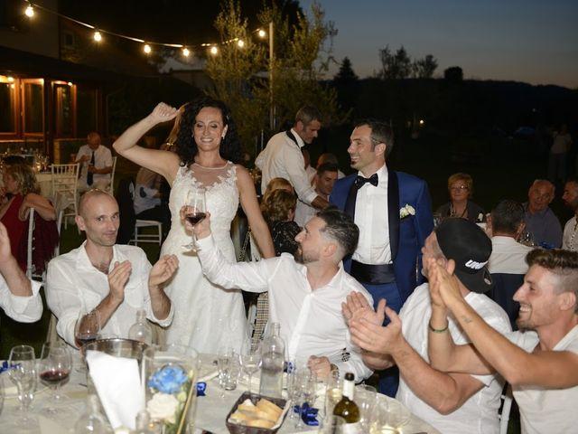 Il matrimonio di Massimiliano e Silvia a Monte San Savino, Arezzo 83