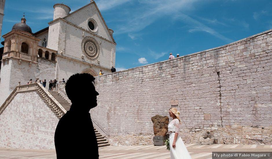 Il matrimonio di Massimiliano e Serena a Cerreto d'Esi, Ancona