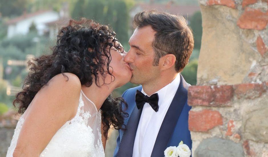 Il matrimonio di Massimiliano e Silvia a Monte San Savino, Arezzo