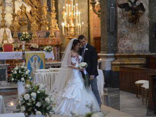 Le nozze di Massimiliano e Maria