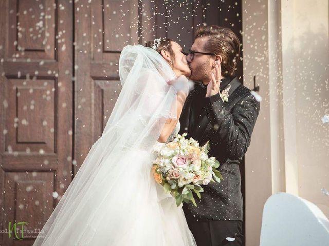 le nozze di Tania e Nicola